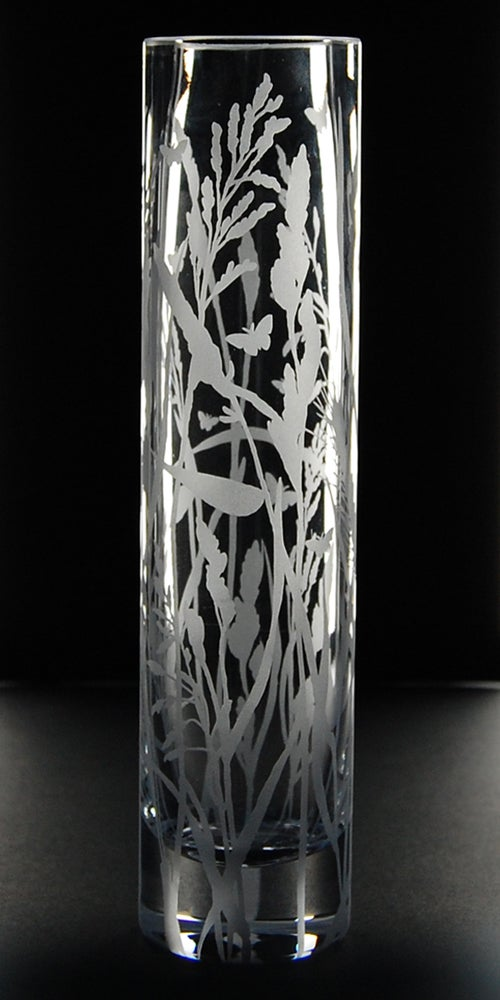 Image of Grasses column vase