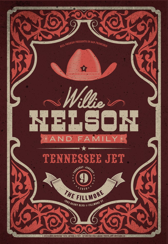 Image of Willie Nelson - San Francisco 2020 (3)