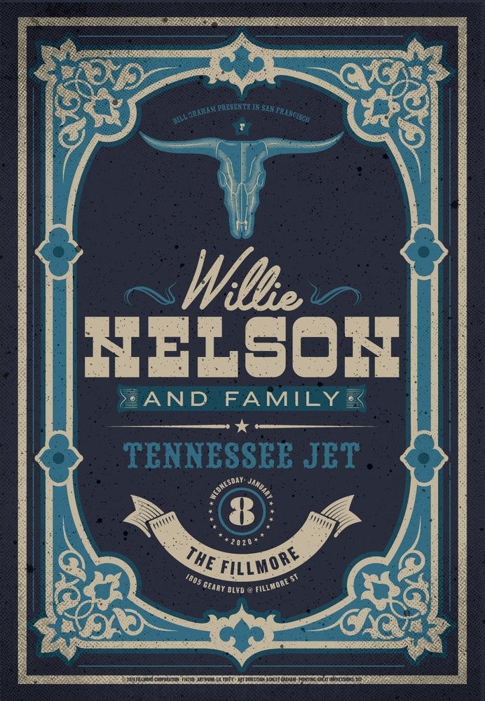 Image of Willie Nelson - San Francisco 2020 (2)