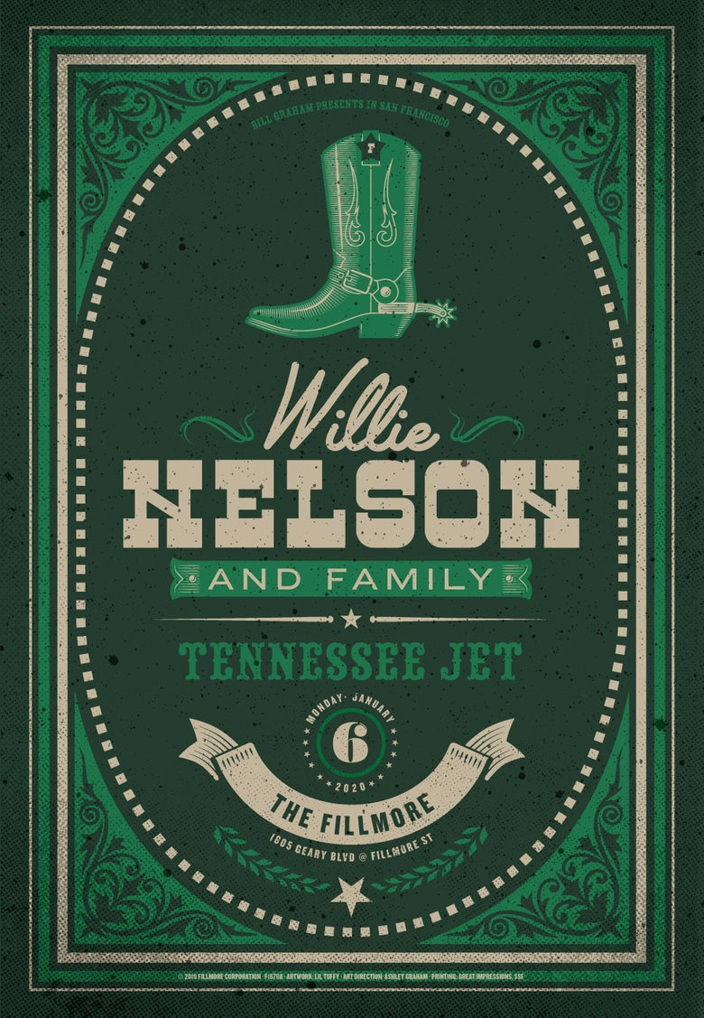 Image of Willie Nelson - San Francisco 2020 (1)