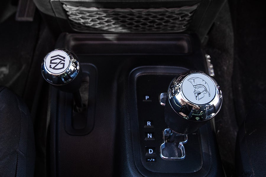Image of Jeep JK Shifter Inserts