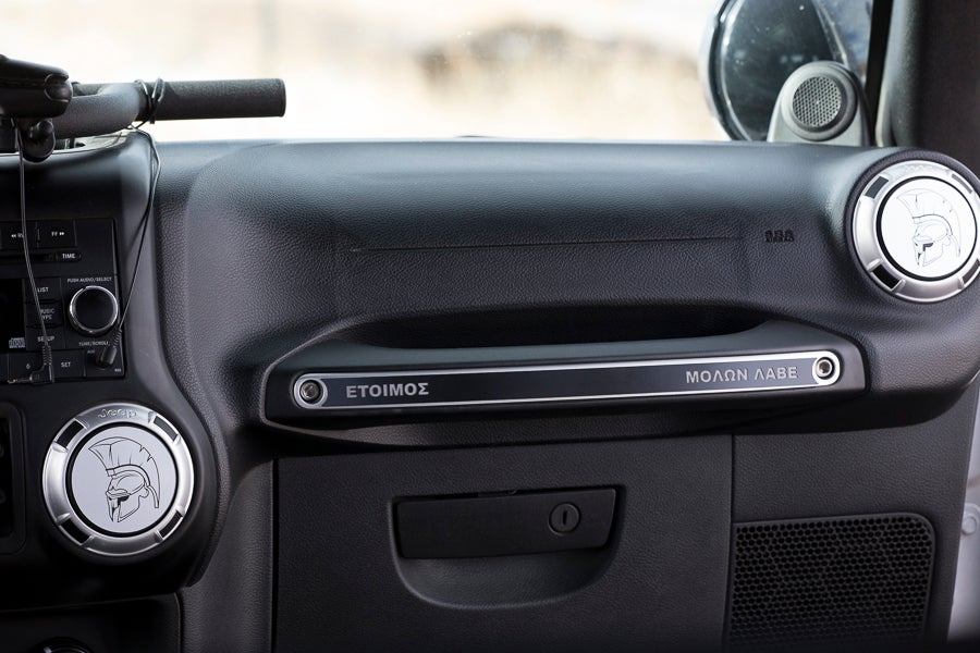 Image of Jeep JK Grab Handle Cover