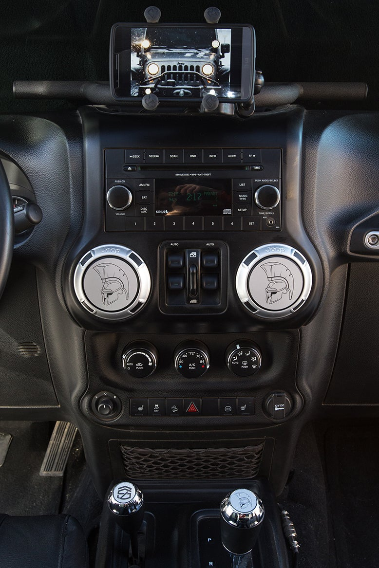 Image of Jeep Wrangler Vent Covers