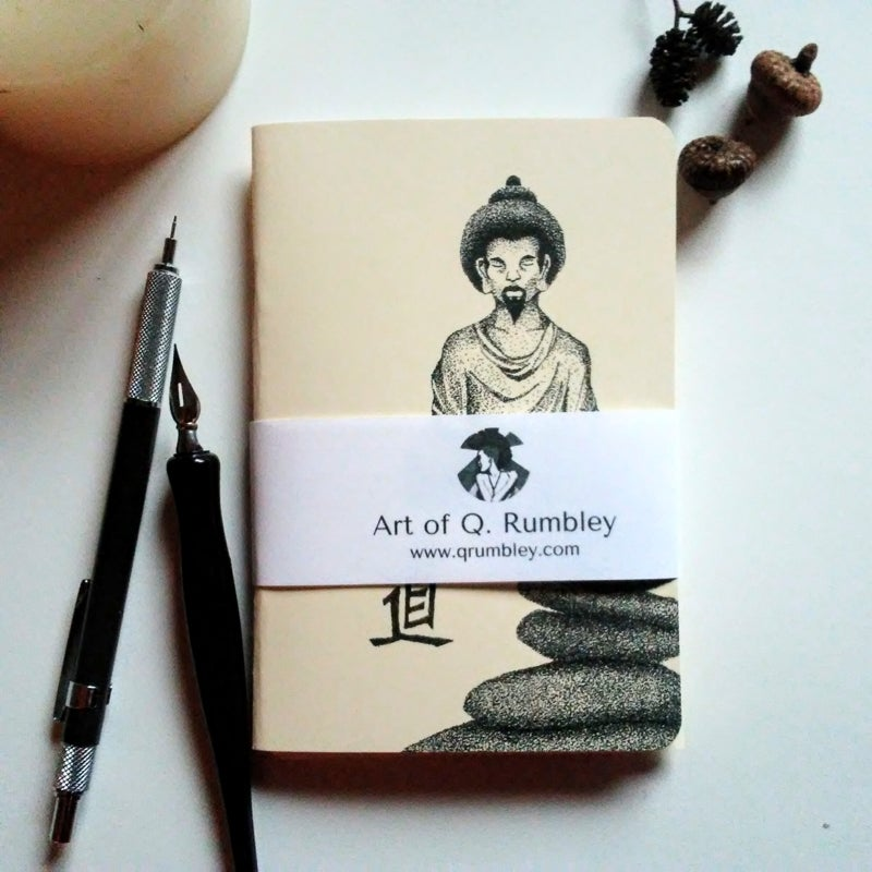 Image of Buddha Tao Blank Pocket Journal Set