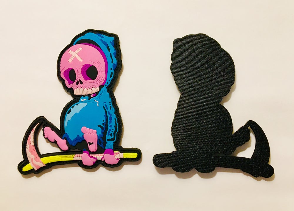 Image of Grim Patch [Blue]