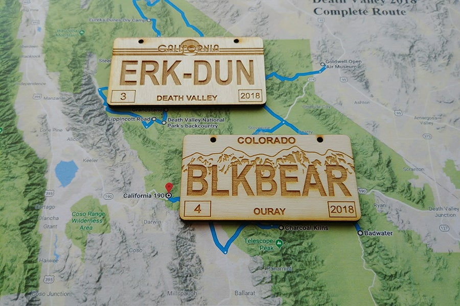 Image of Trail Plates