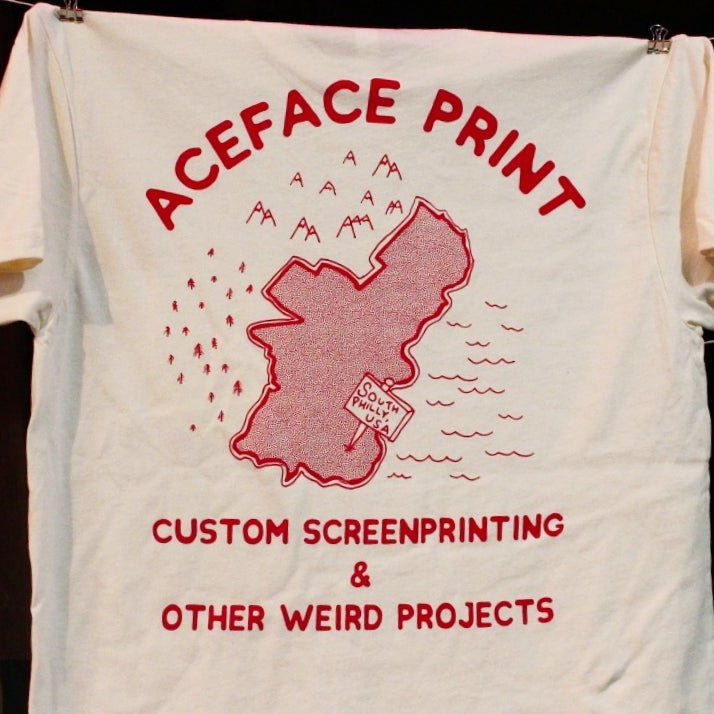 Image of AceFace Print Shop Tee