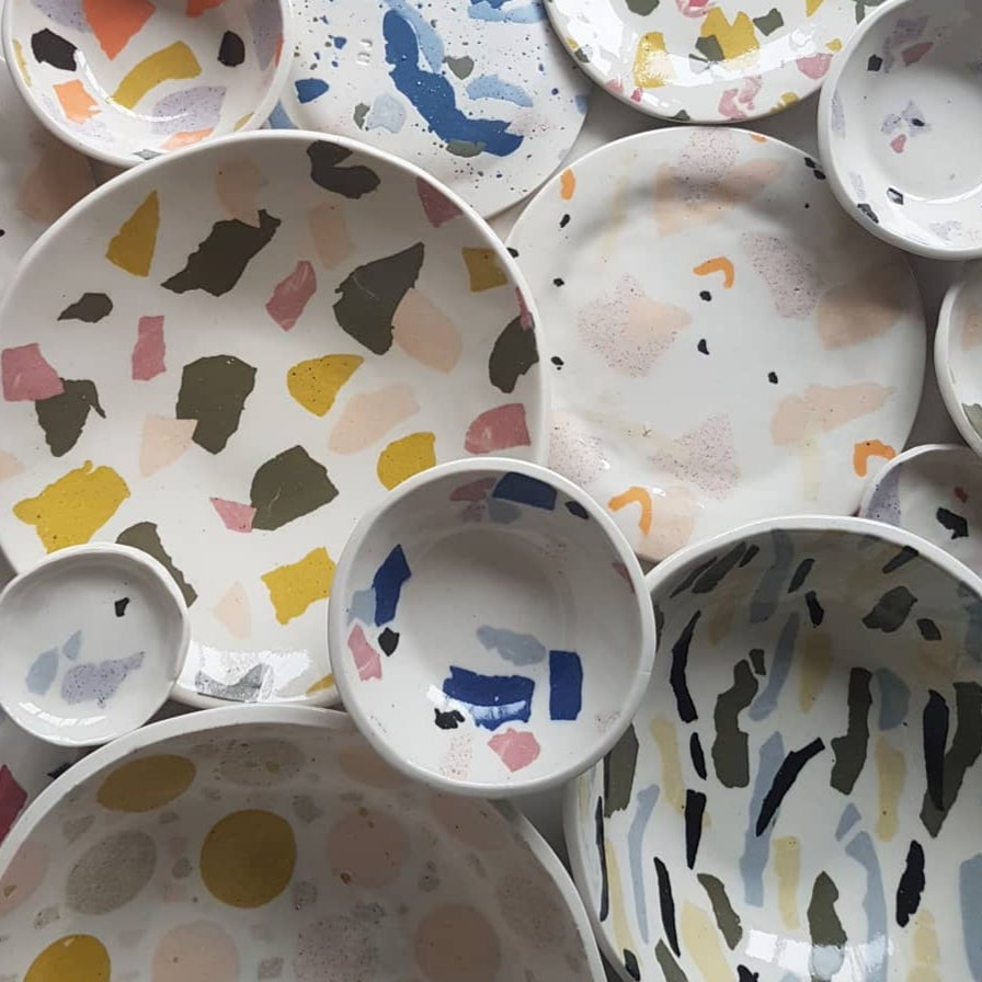 Image of TERRAZZO TABLEWARE WORKSHOP SATURDAY 4TH APRIL