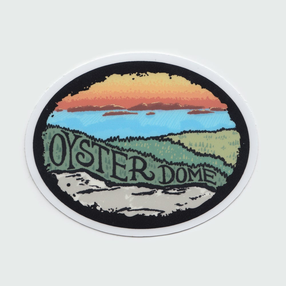 Image of Oyster Dome Sticker
