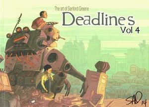 Image of The Art of Sanford Greene Deadlines Vol 4