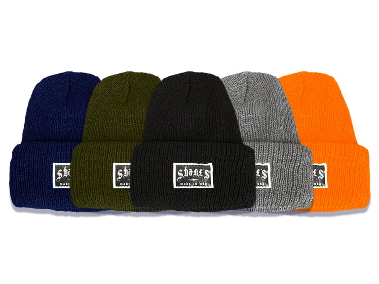 "Image of Shane's ""Bolt"" Beanie"