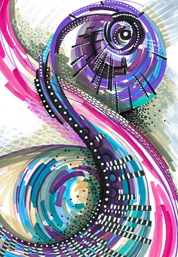 Image of AMONG WORLDS (original artwork)