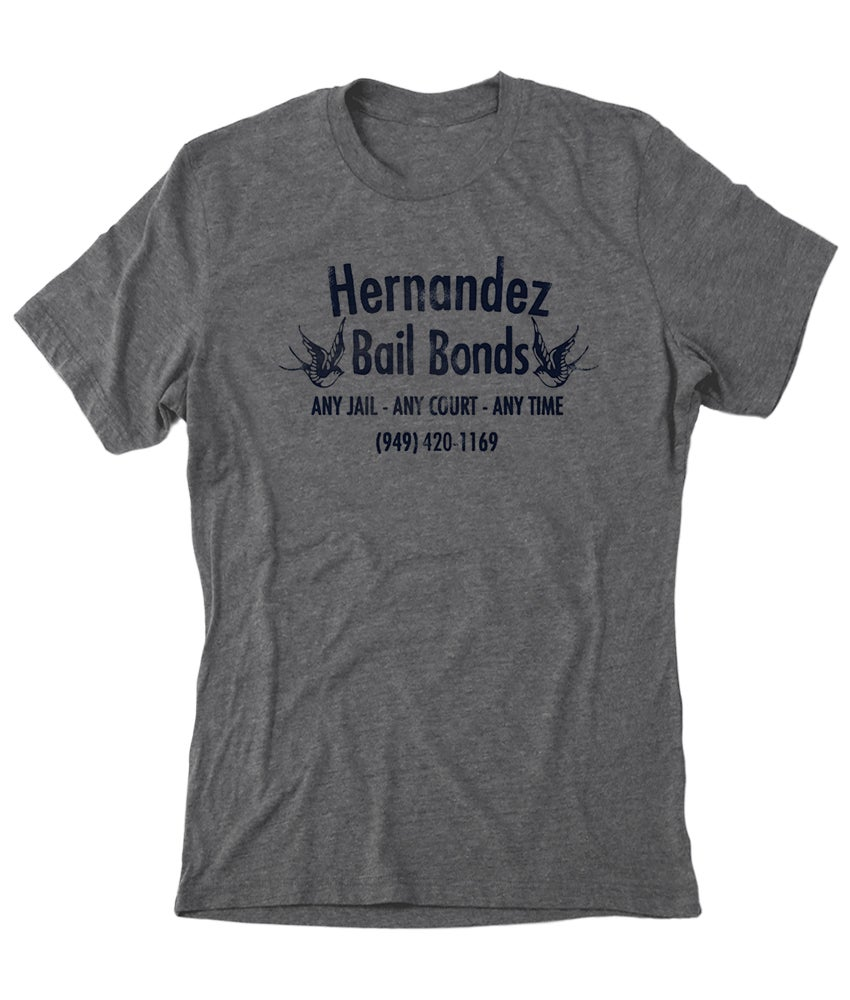 Image of Hernandez Bail Bonds T-shirt