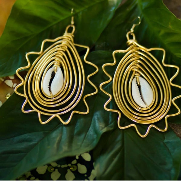 Image of Elevated Empress Earrings
