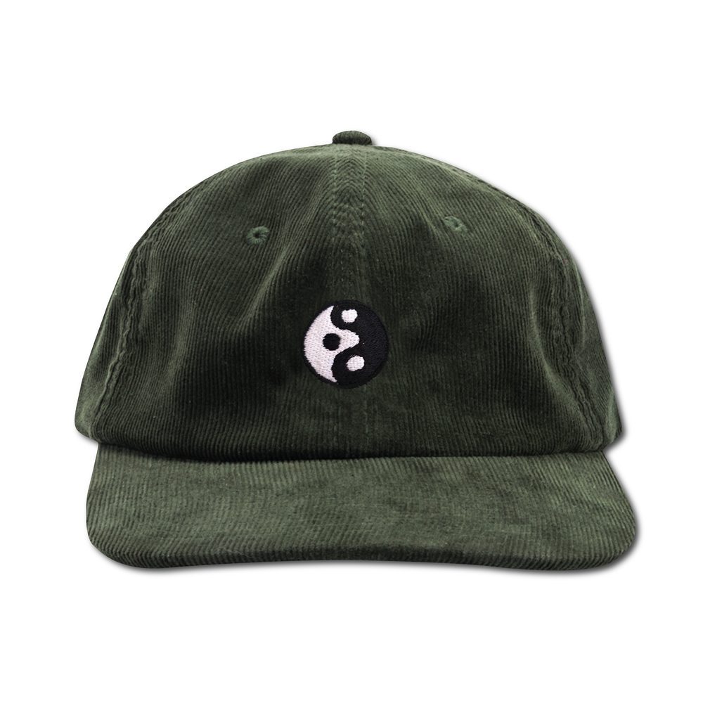 "Image of TAKEGOODCARE™ ""YINYANGISH"" CORD CAP GREEN"