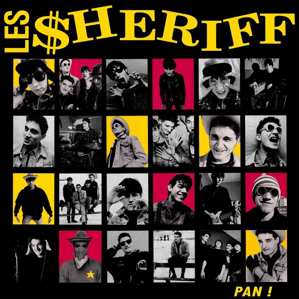 """LES SHERIFF """"Pan!"""" LP réédition 2019"""