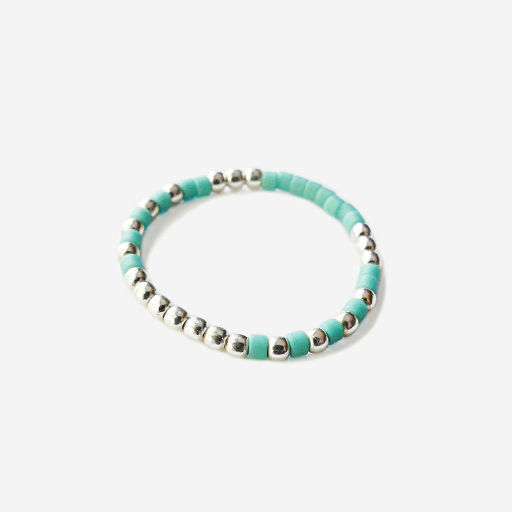 Image of SOLDES - BAGUE TURQUOISE - TAILLE 59
