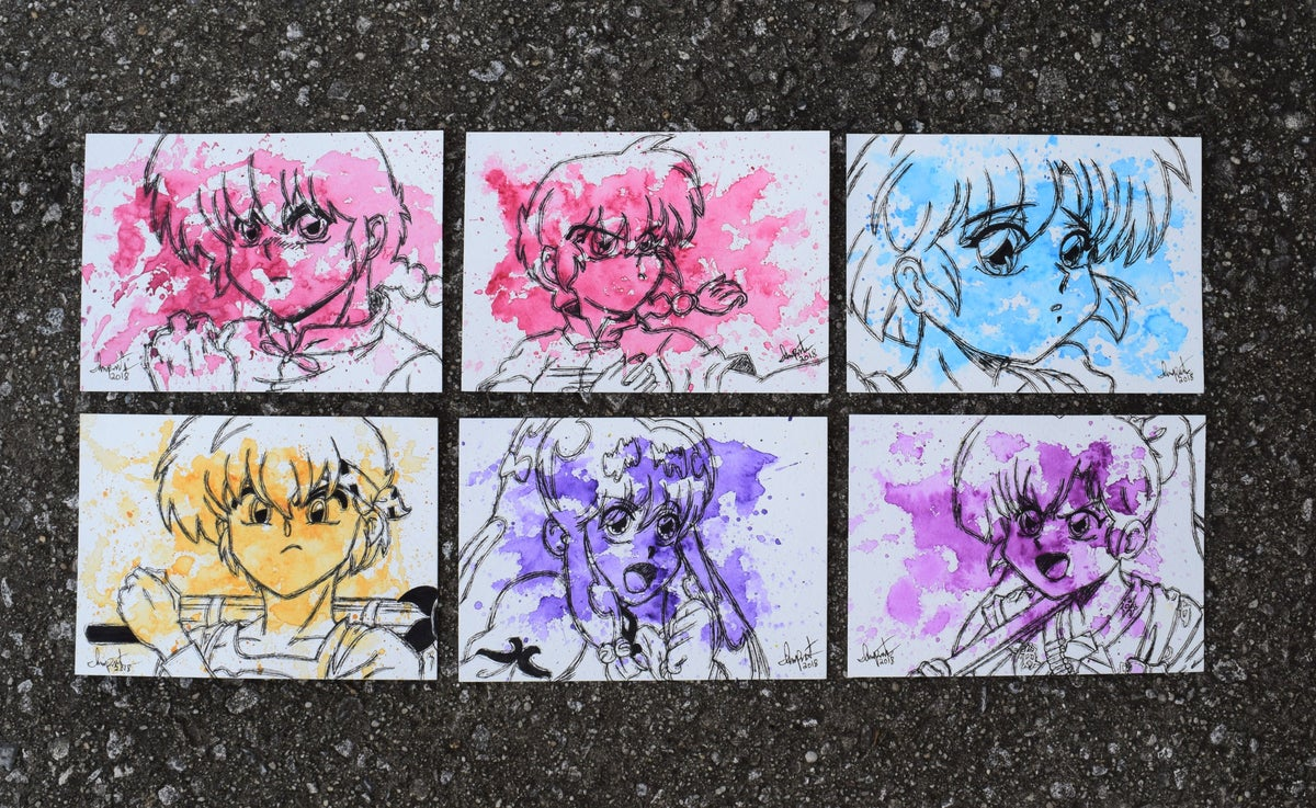 Image of Ranma 1/2 Character Set 1