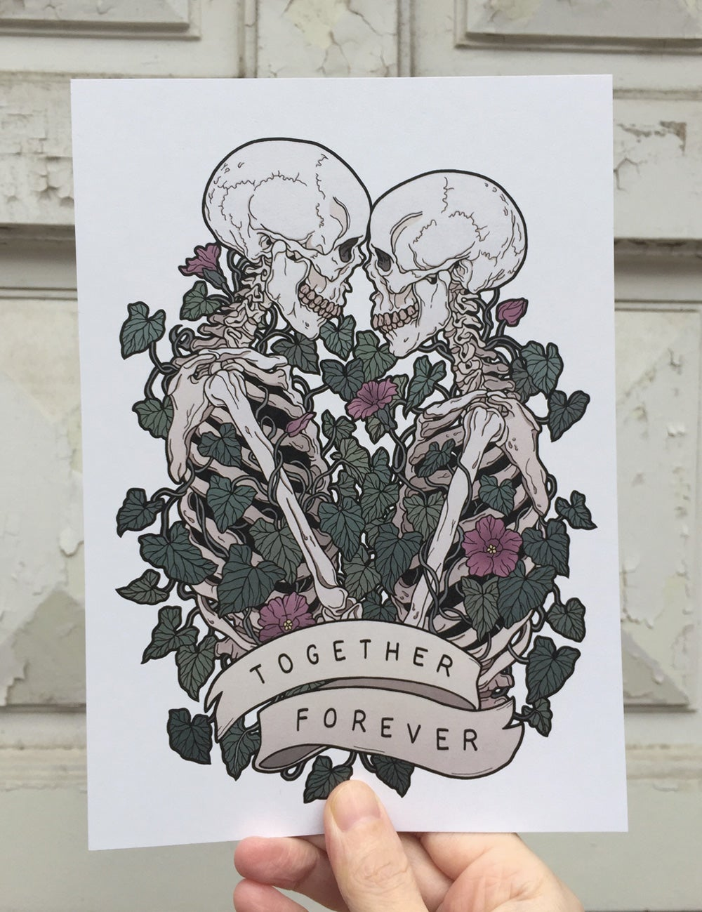 Image of Together forever (white background)