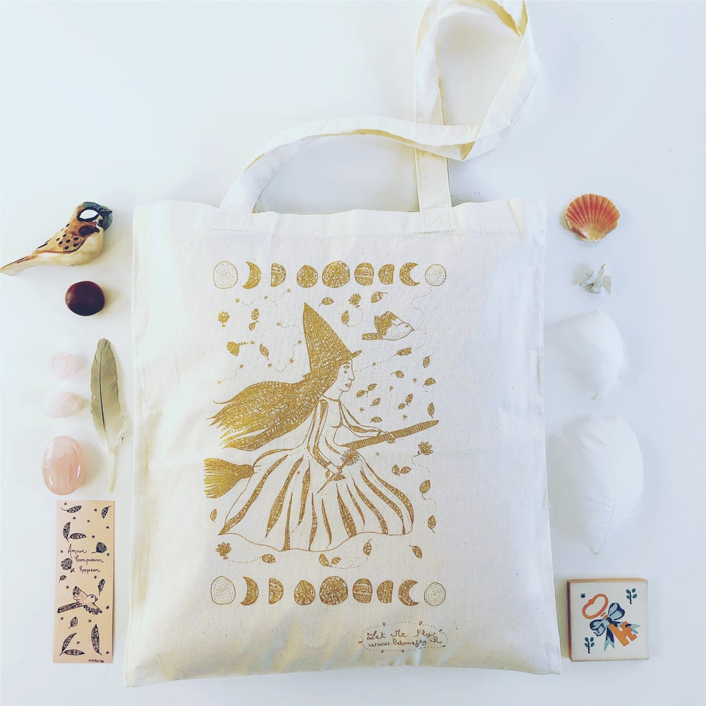 Image of Tote Bag *Gold Witch*