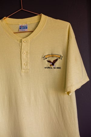 Image of 1990 Sturgis 50th Anniversary Embroidered Tee