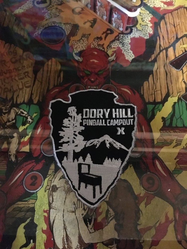 Image of Dory Hill Pinball Campout Patches