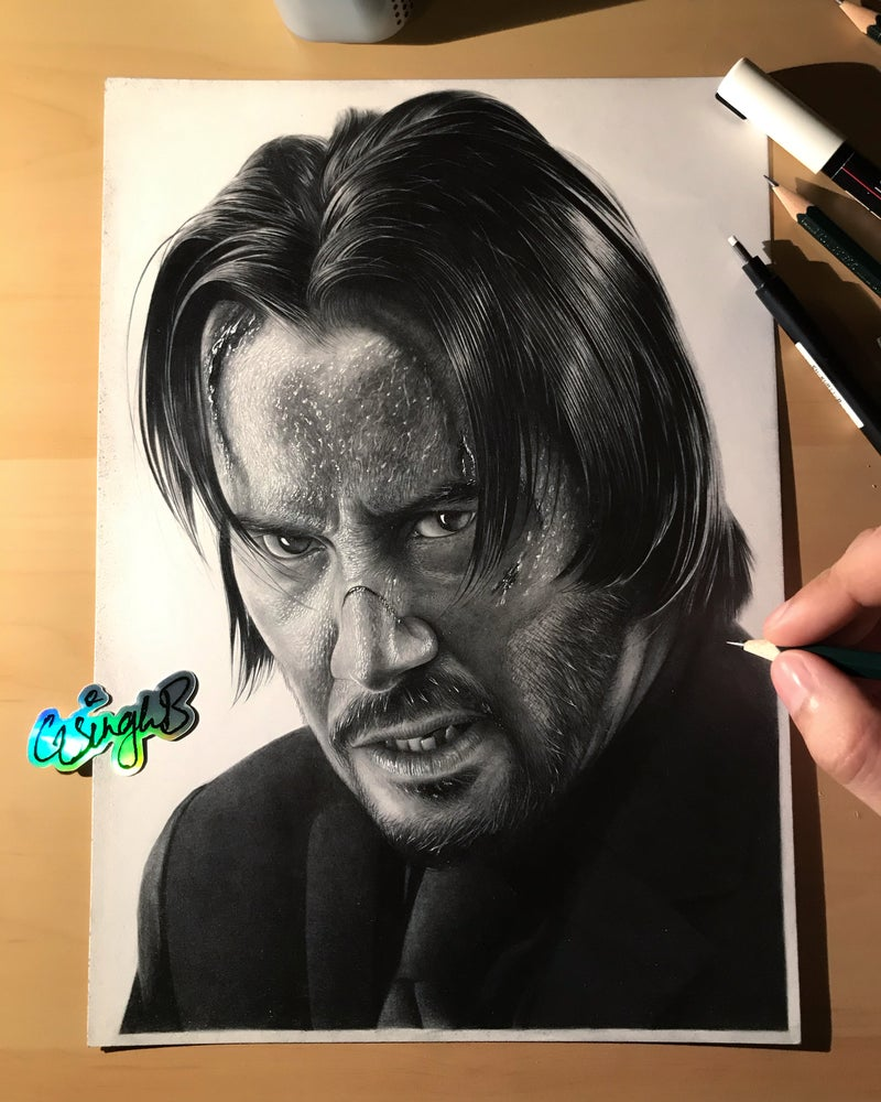 Image of John Wick (Limited Run of 5: Numbered & Signed)