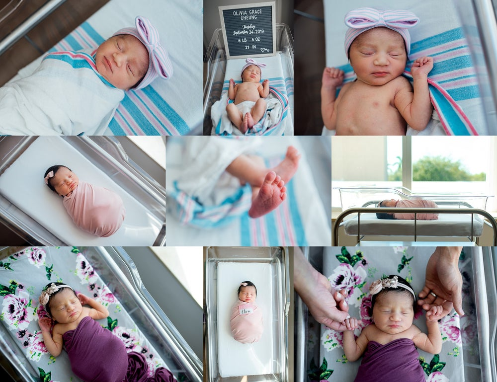 Image of  $350 FRESH 48 & Newborn session : Session fee: combined :