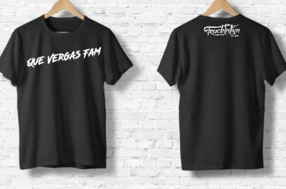 Image of Que Vergas fam T-shirt
