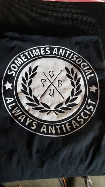 Image of Sometimes antisocial always antifascist SUFB
