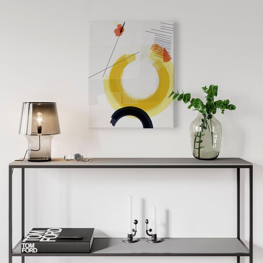 Image of Nucleus No. 2 Canvas Print