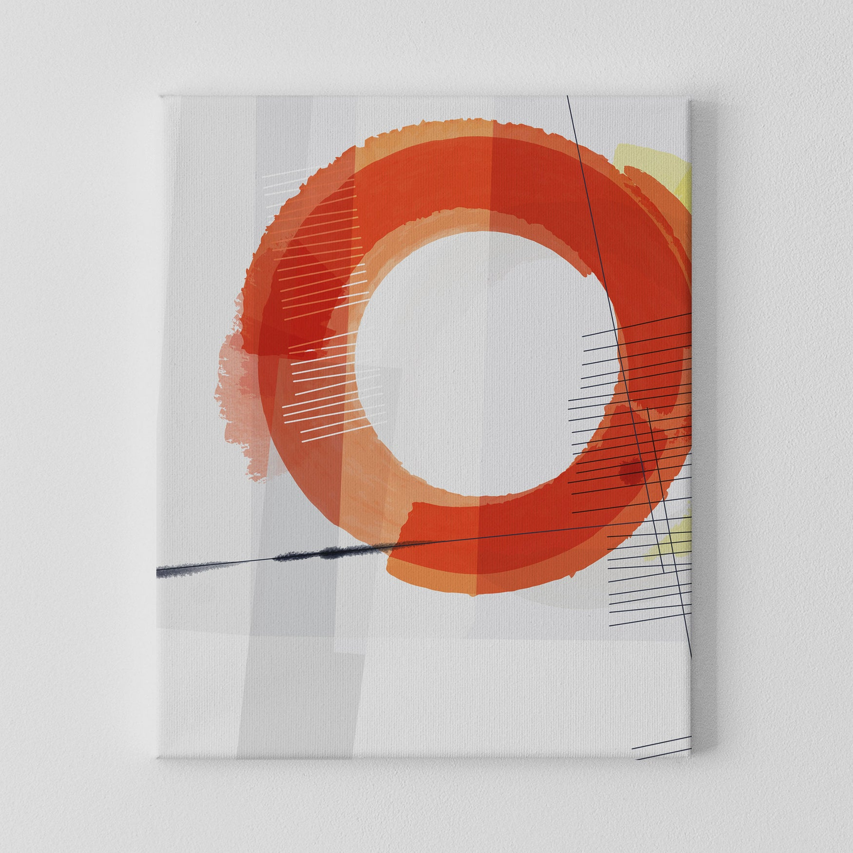 Image of Nucleus No. 3 Canvas Print