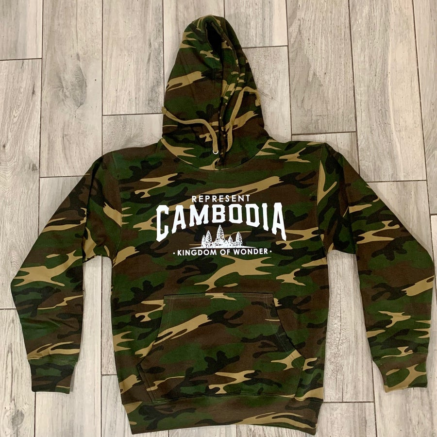 Image of Camo Kingdom of Wonder Hoodie