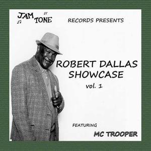 Image of Robert Dallas Showcase Vo1: 1 featuring MC Trooper - Jamtone records (New UK vinyl EP)