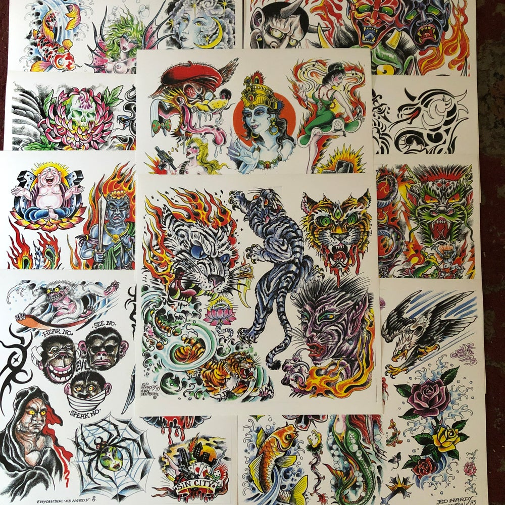 Image of Ed Hardy Collab Flash '93