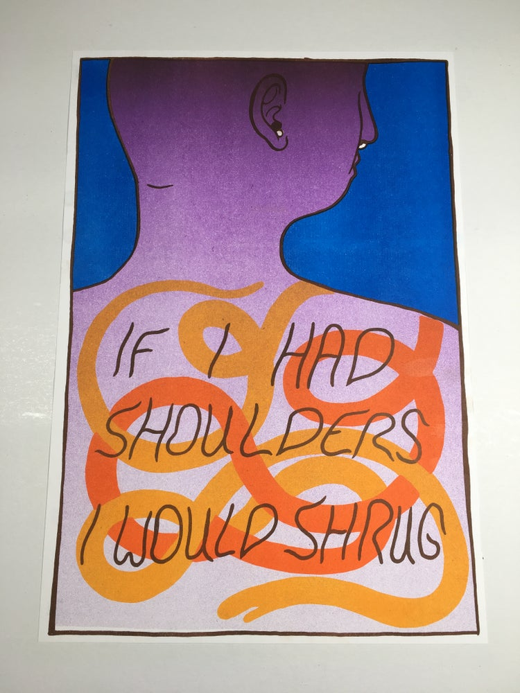 Image of If I Had Shoulders by Brad Rohloff