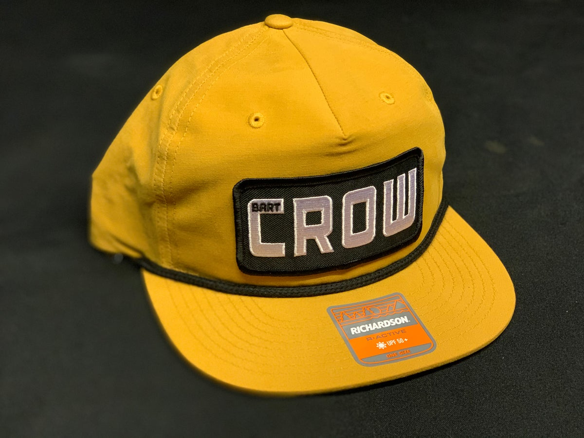 Image of Yellow and Black Bart Crow Hat