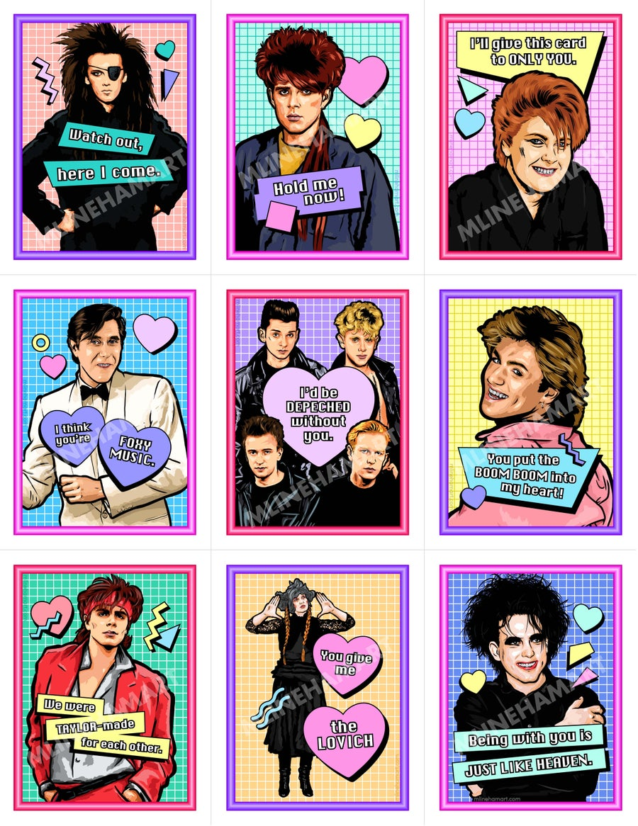 Image of New Wave Valentine's Day Card Pack (2020)