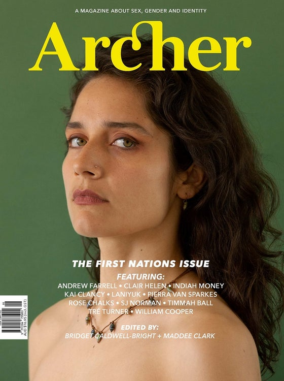 Image of ARCHER MAGAZINE #13 - the FIRST NATIONS issue