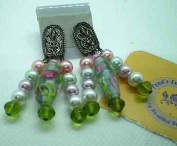 Image of Spring Rose Earrings