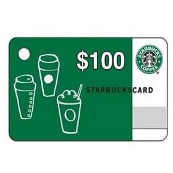 Image of Starbucks Gift Card With Pin Value $500