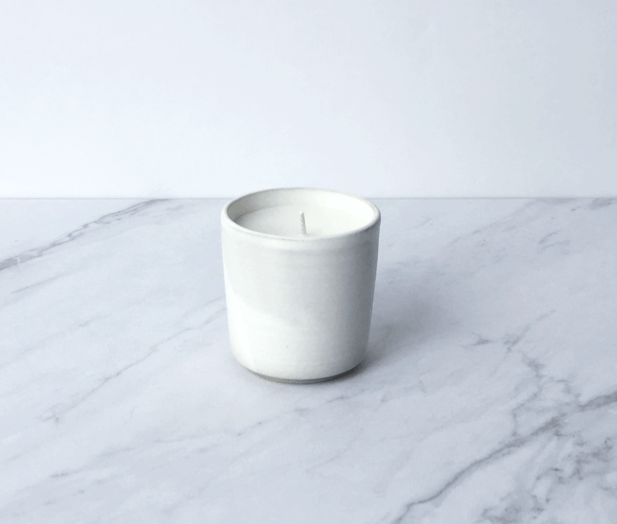 Image of NEROLI, coconut wax scented candle in ceramic cup