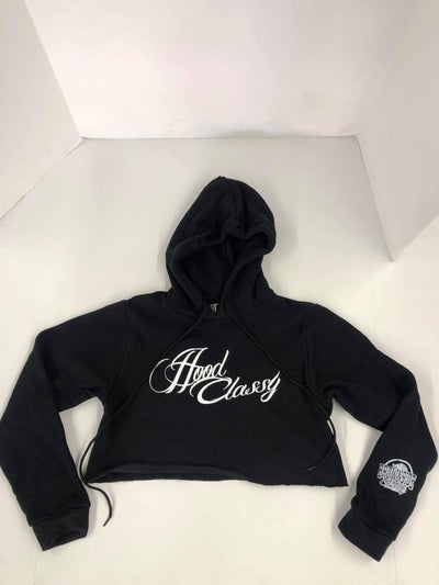 Image of HOOD CLASSY CROP HOODIES (EVELYN GEE GEAR)