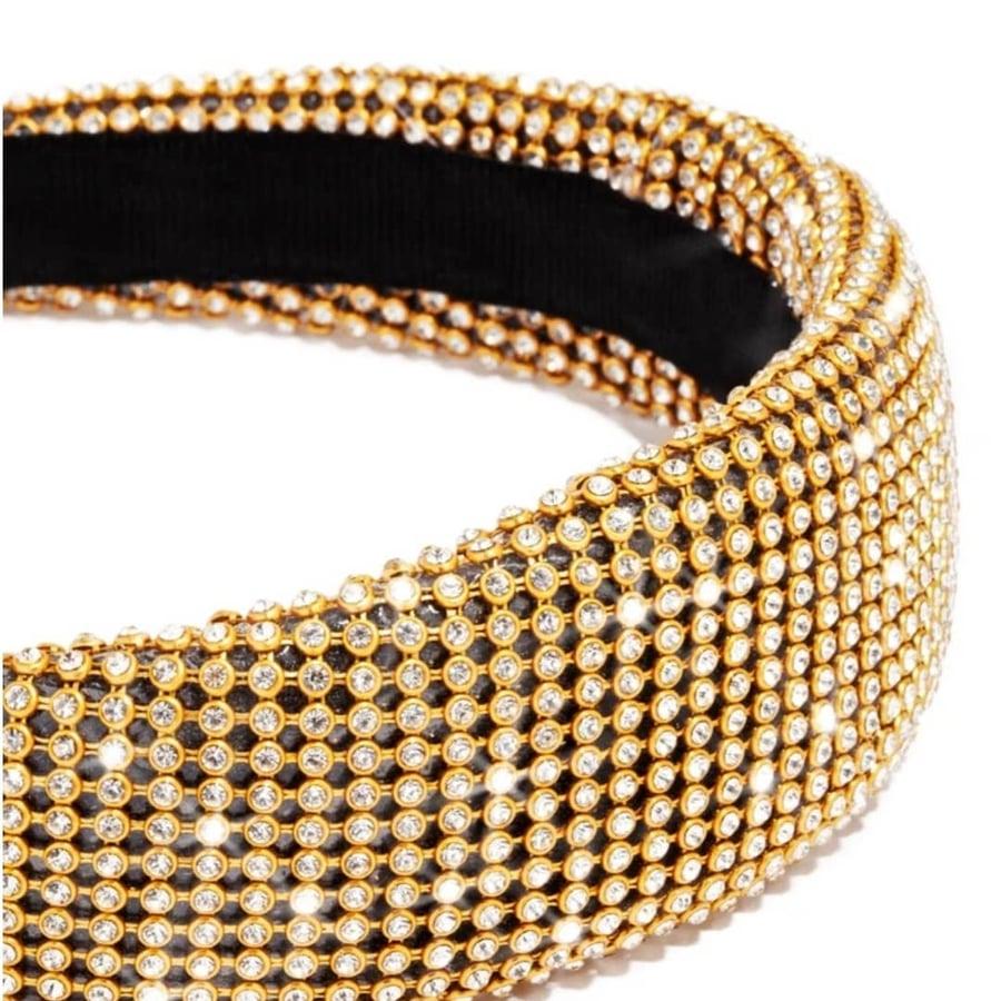 Image of Ruby Rhinestone Headband