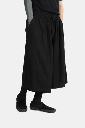 Image of IMMENSE - 雙層八分褲裙 (黑)