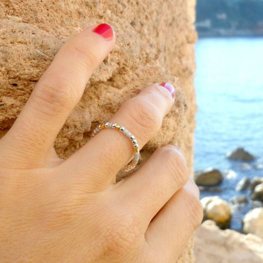 Image of SOLDES - BAGUE GLACEE - TAILLES: 51/ 52