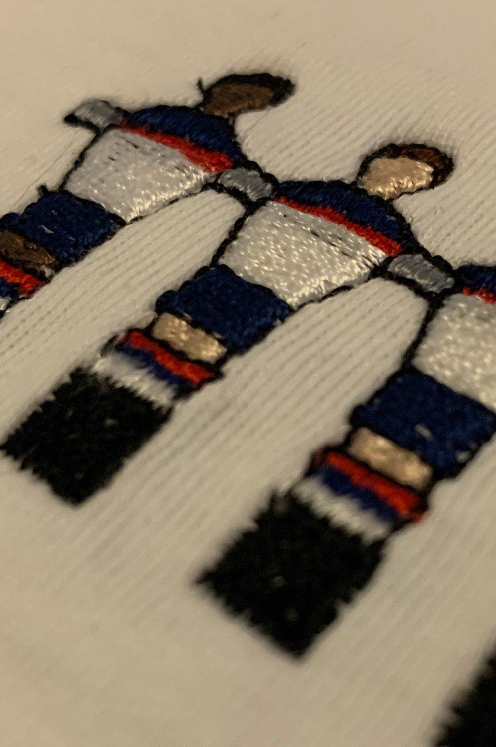 Kids Embroidered International Crew Tees