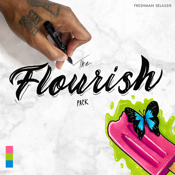 Image of The Flourish Pack - Freshman Selassie