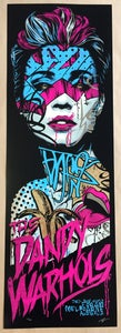 Image of THE DANDY WARHOLS - BOHEMIAN FOIL gigposter