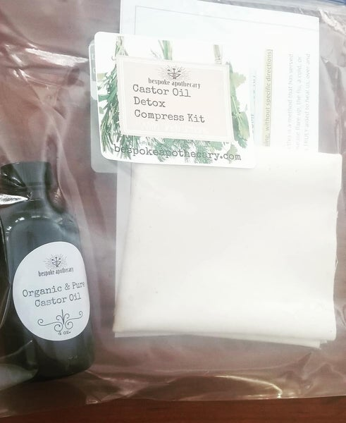 Image of Castor Oil Compress kit